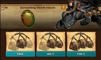 Screaming Death Island (Hideous Zippleback)