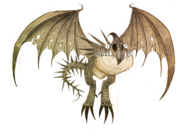 Dragons bod nadder background sketch