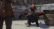 Toothless racing