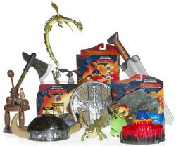 How to train your dragon toys march 2010