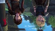 Astrid and Hiccup from Smidvarg's point of view