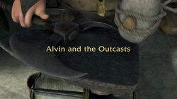 Alvin and the Outcasts title card