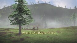 When Darkness Falls title card