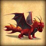 Dragons sac adult