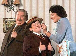Dudley Dursley and Parents