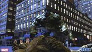 Hulk looking at Abomination