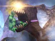 A devil hulk