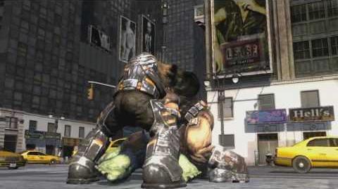 """Green Blues"" The Incredible Hulk Video Game"
