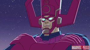 Galactus is talking