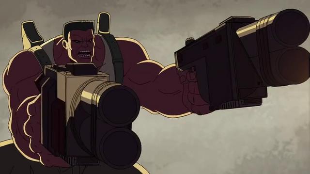 File:Red Hulk is shooting Skaar-Venom.png