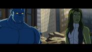 She hulk and A-Bomb