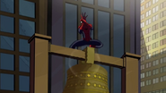 Spidey hurts by the bell