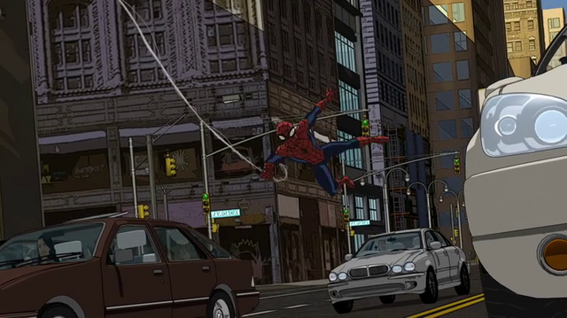 File:Spiderman in the city.png