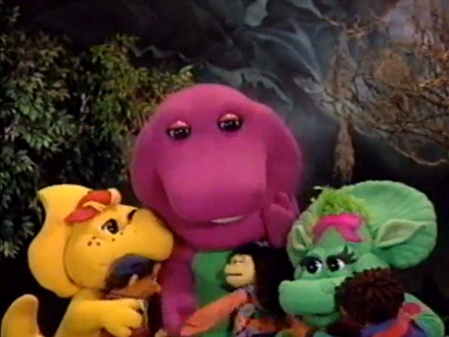 File:Barney, PJ, Baby Bop and the Whatnots.png