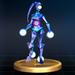 Blue Alloy - Brawl Trophy