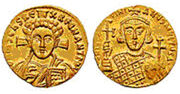 Solidus of Justinian II,