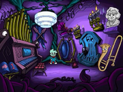 Darkness' Music Room