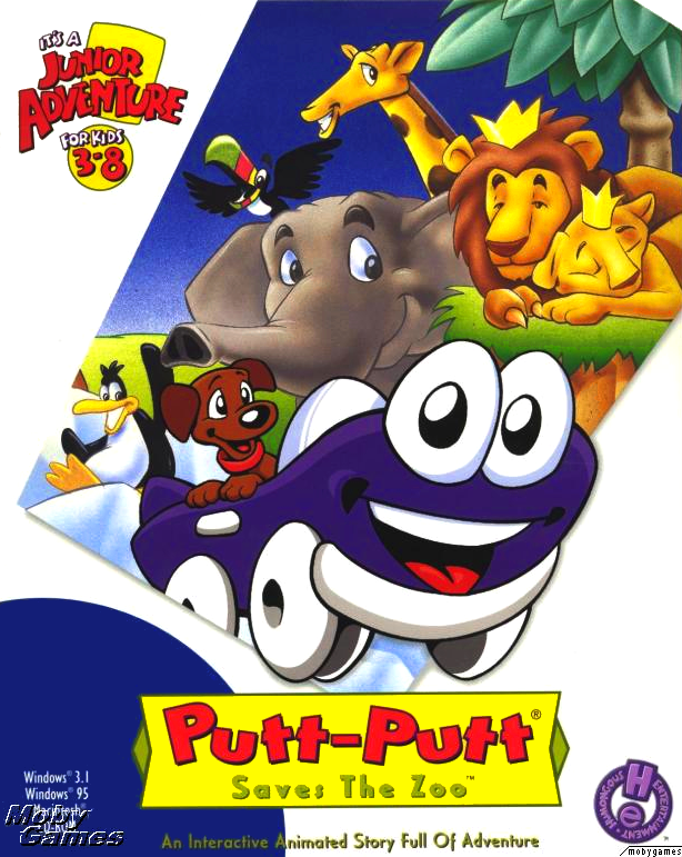 Putt Putt Saves The Zoo Humongous Entertainment Games