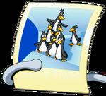 Penguin Pyramid Picture