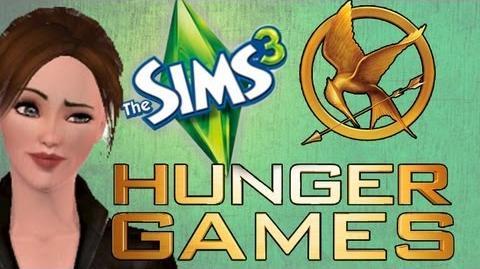 SIMS 3 HUNGER GAMES! Amanda & Katniss r LOVERS!?! 7