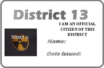 District 13 permit