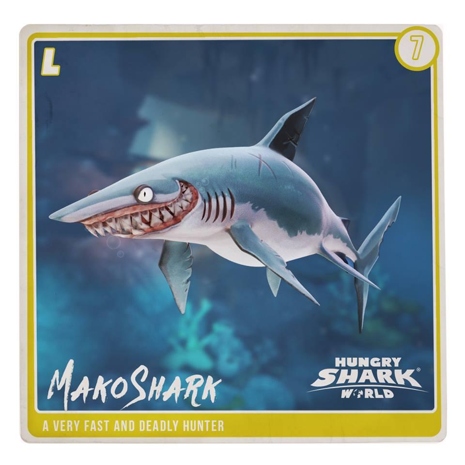 Mako Shark (World) | Hungry Shark Wiki | FANDOM powered by Wikia