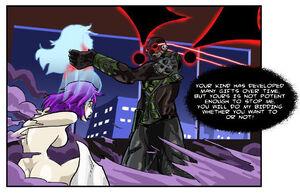 Kreed the Corruptor putting Venom Mist in his thrall