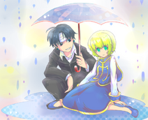 Kurokura in the rain by foxmi-d5a5ozi