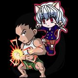 Gon vs Pitou - Chibi
