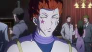 A worried Hisoka
