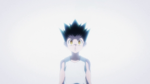 A shocked Gon
