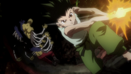 82 - Centipede defeated by Gon