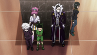 Gon and Killua captured by the Phantom Troupe.png