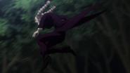 Tsubone pursuing Killua