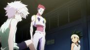 Hisoka, Killua & Gon After Dodgeball Match