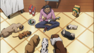 Squala And His Dogs