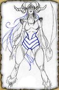 Sabriel (Pencil Sketch)
