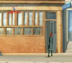 Rouen Police Office close up