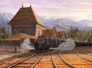 Southern Romania Train Station