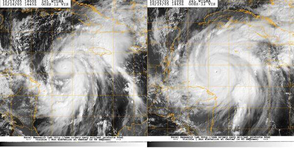 Hurricane Wilma Rapid Intensification