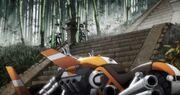 Keiji's Tri-Motorcycle.