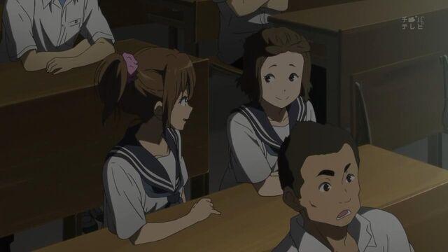 File:Midori and Mamiko in their school uniforms.jpg