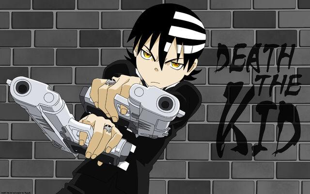 File:Death the kid wallpaper by kujaex.jpg