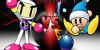 White Bomberman vs Poppy Bros. Jr.