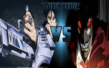 Death The Kid vs Alucard