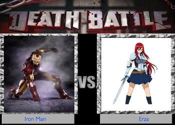 Iron man vs erza