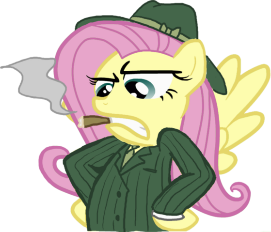 File:Fluttershy is a Barzini.png