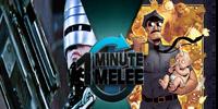 ONE MINUTE MELEE:Robocop vs Axe Cop