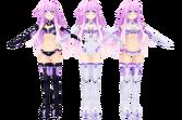 Hyperdimension neptunia v purple sister by xxnekochanofdoomxx-d5omxo4