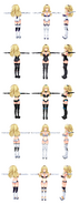 Mmd neptune v yellow heart hdd form by chocokobato-d5e2zxc